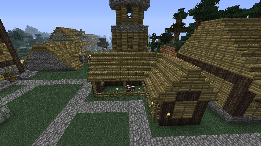 how to make a horse stable in minecraft