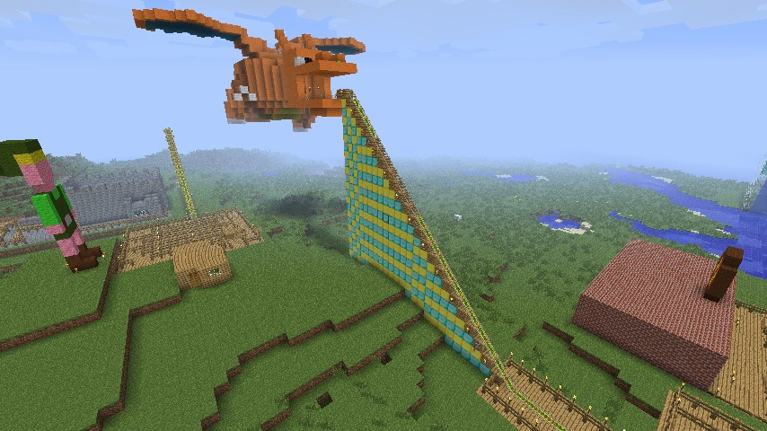 how to make a ride in minecraft