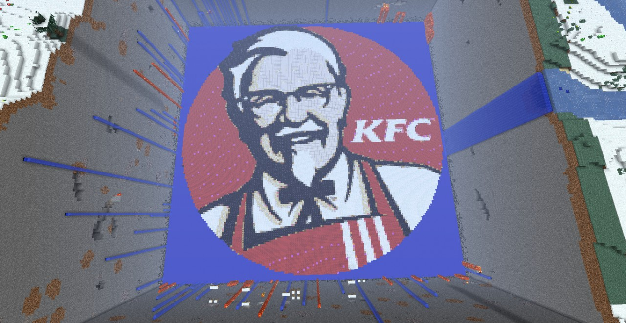 pixel art kfc