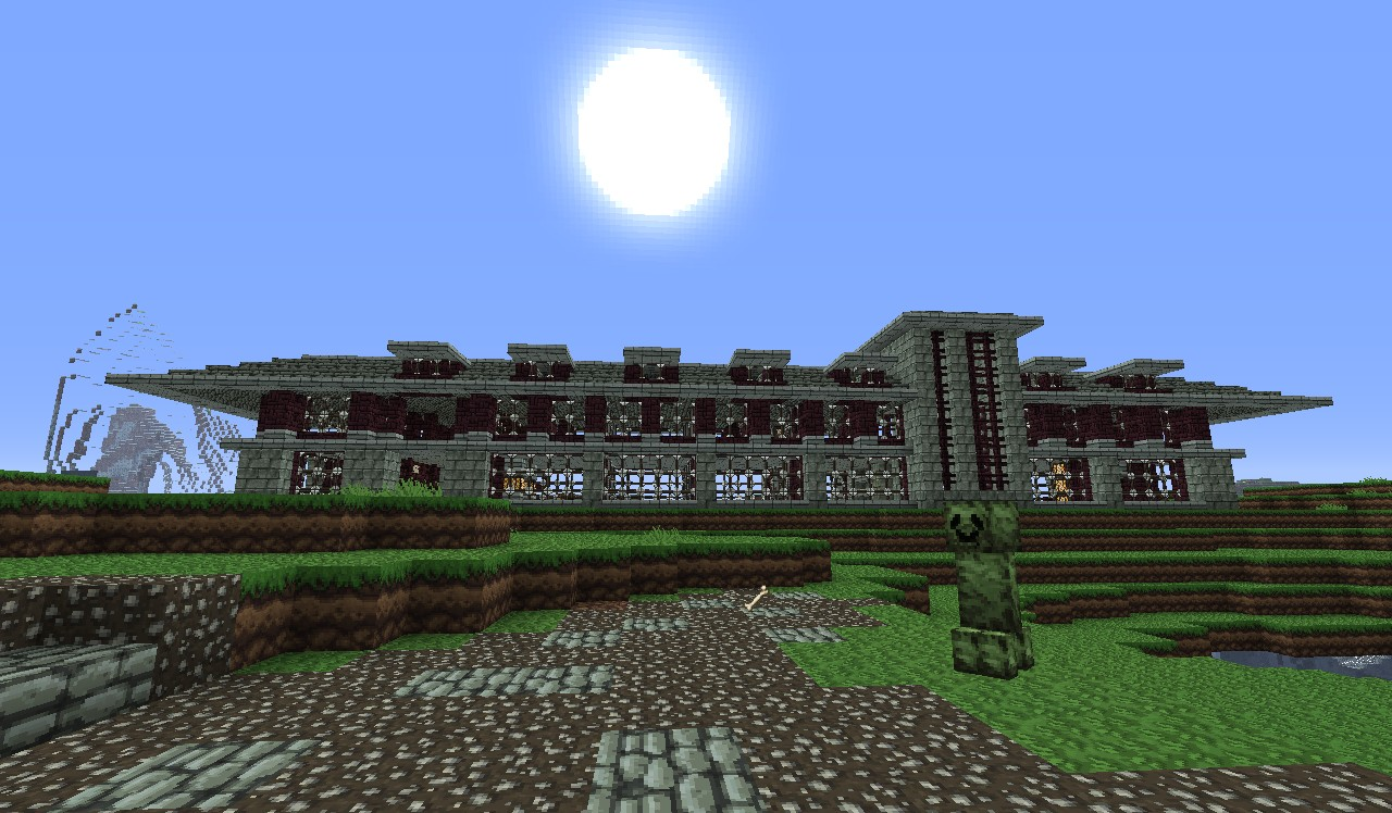 modern prairie style house minecraft project