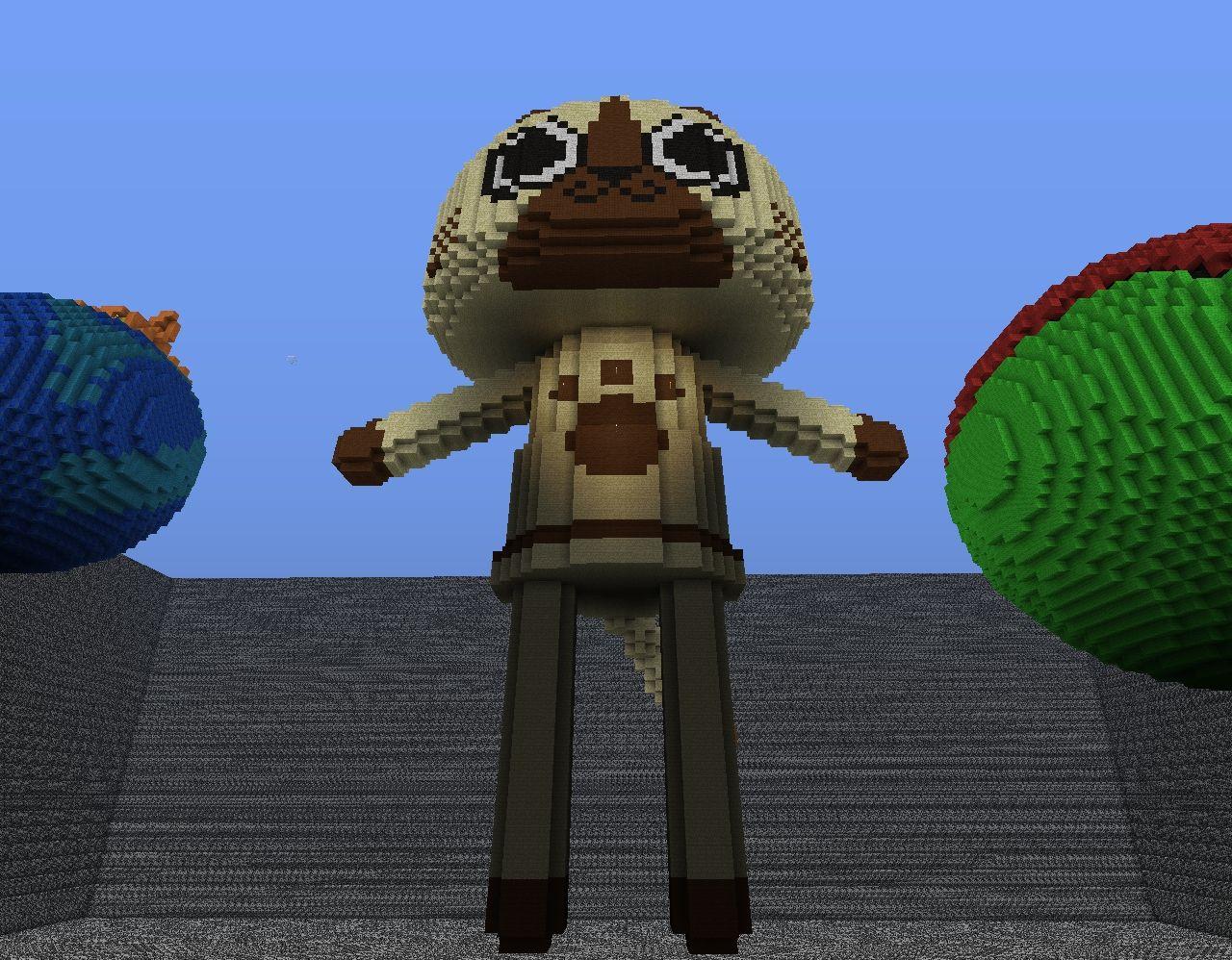 Felyne from Monster Hunter Minecraft Project