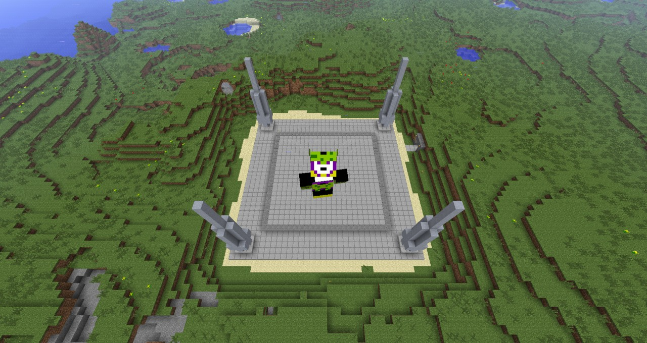 Cell games arena dragonball z minecraft project cell games arena dragonball z publicscrutiny Images