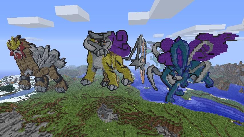 Suicune Pixel Art Raikou  amp  suicune pokemonRaikou Pixel Art