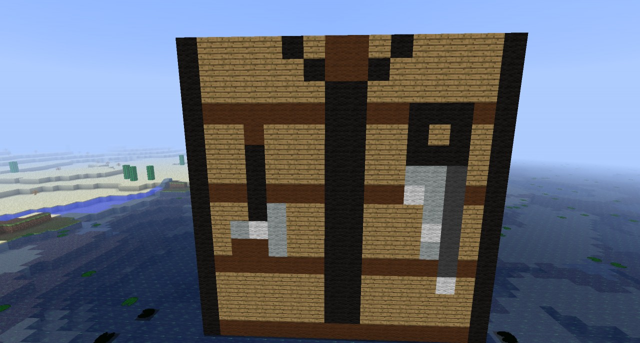 crafting table minecraft project