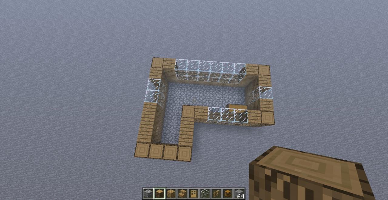 Simple House Blueprint Minecraft Map