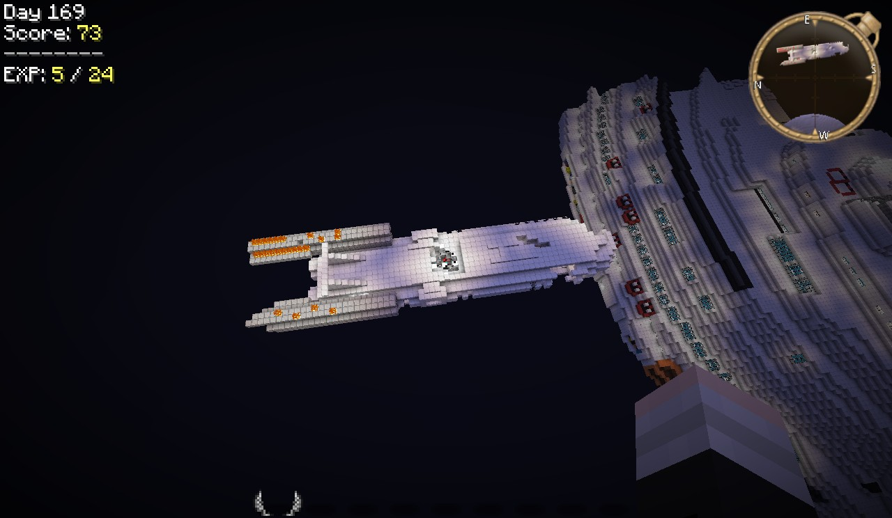 broken space ship - photo #23