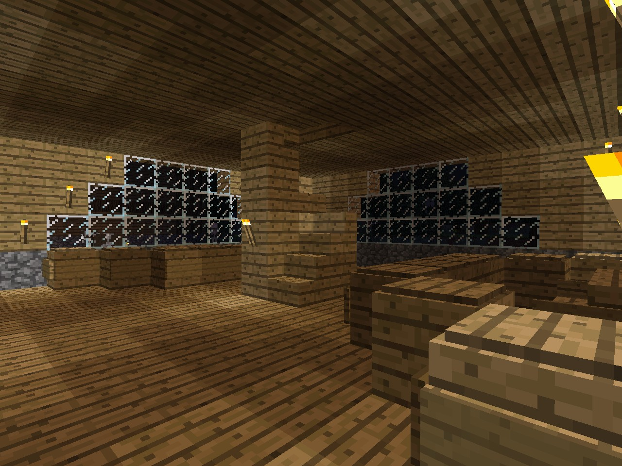 Modern wood building minecraft project geotapseo Gallery