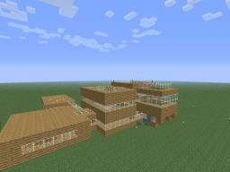 Big Wooden House Minecraft Map & Project