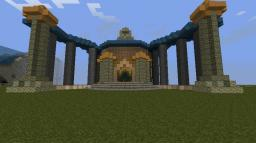 A Temple... Minecraft Map & Project