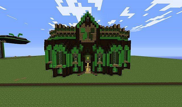 Creeper Style Schematics Minecraft Project