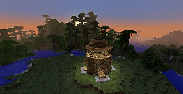 Captivating Planet Minecraft
