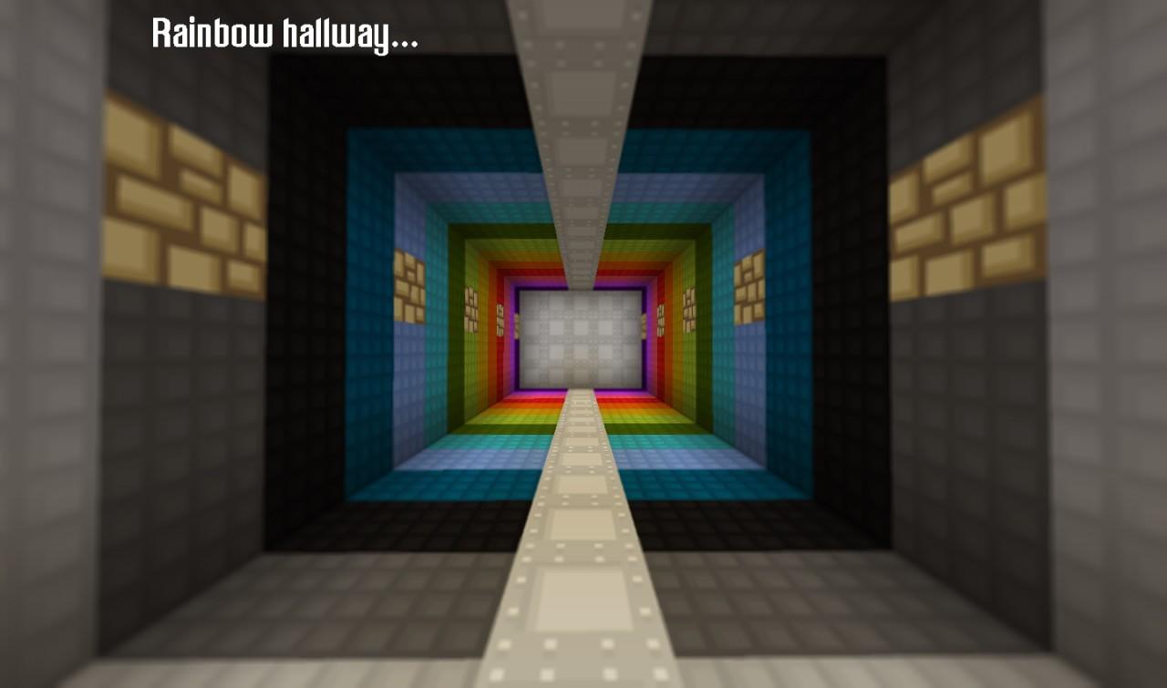 Rainbow Hallway