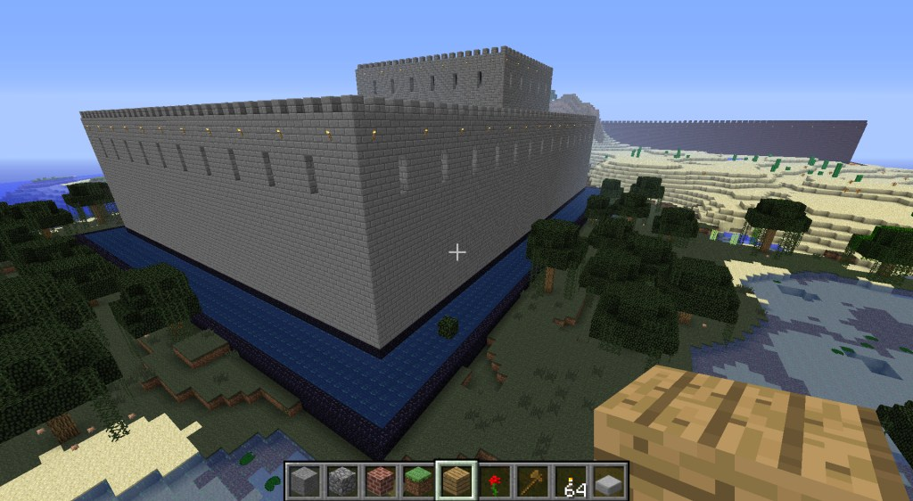 Generated using simple_castle.js - stone castle
