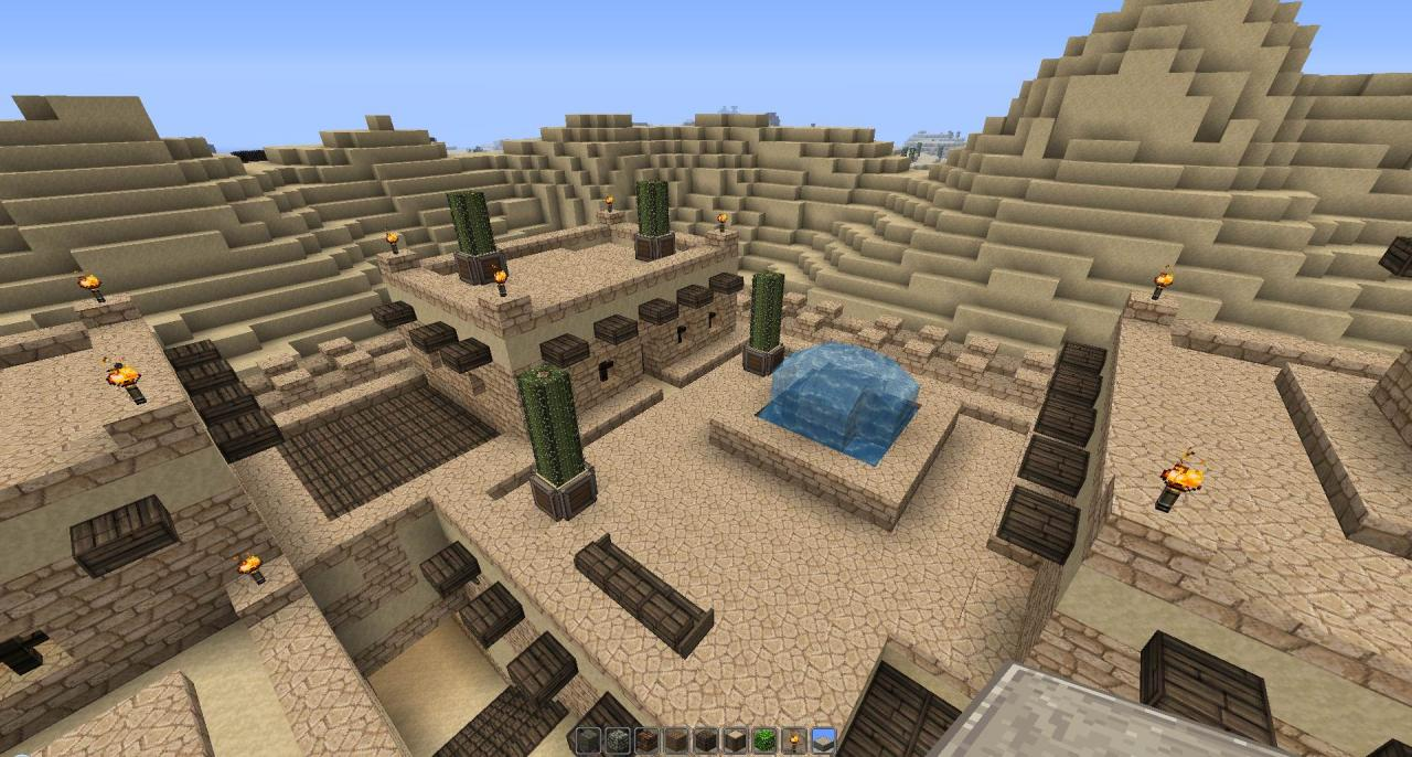 Minecraft Building Ideas For A Town