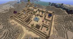Desert Town Minecraft Map & Project