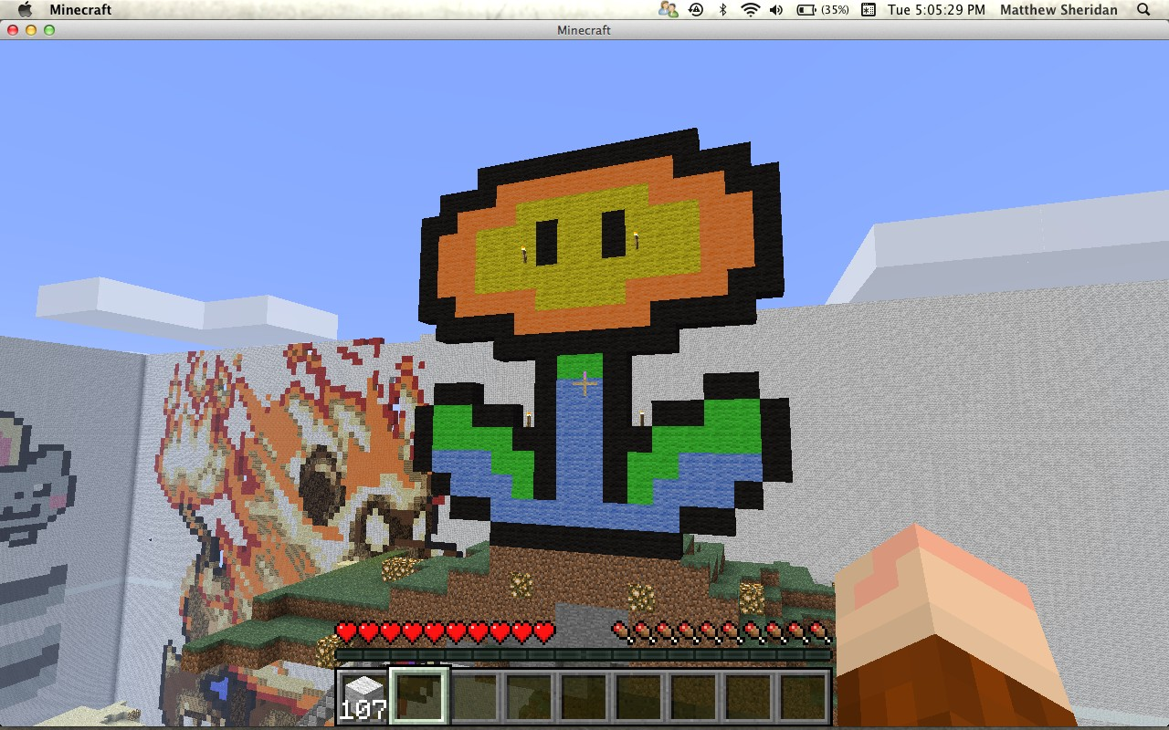 how to build pokemon characters in minecraft