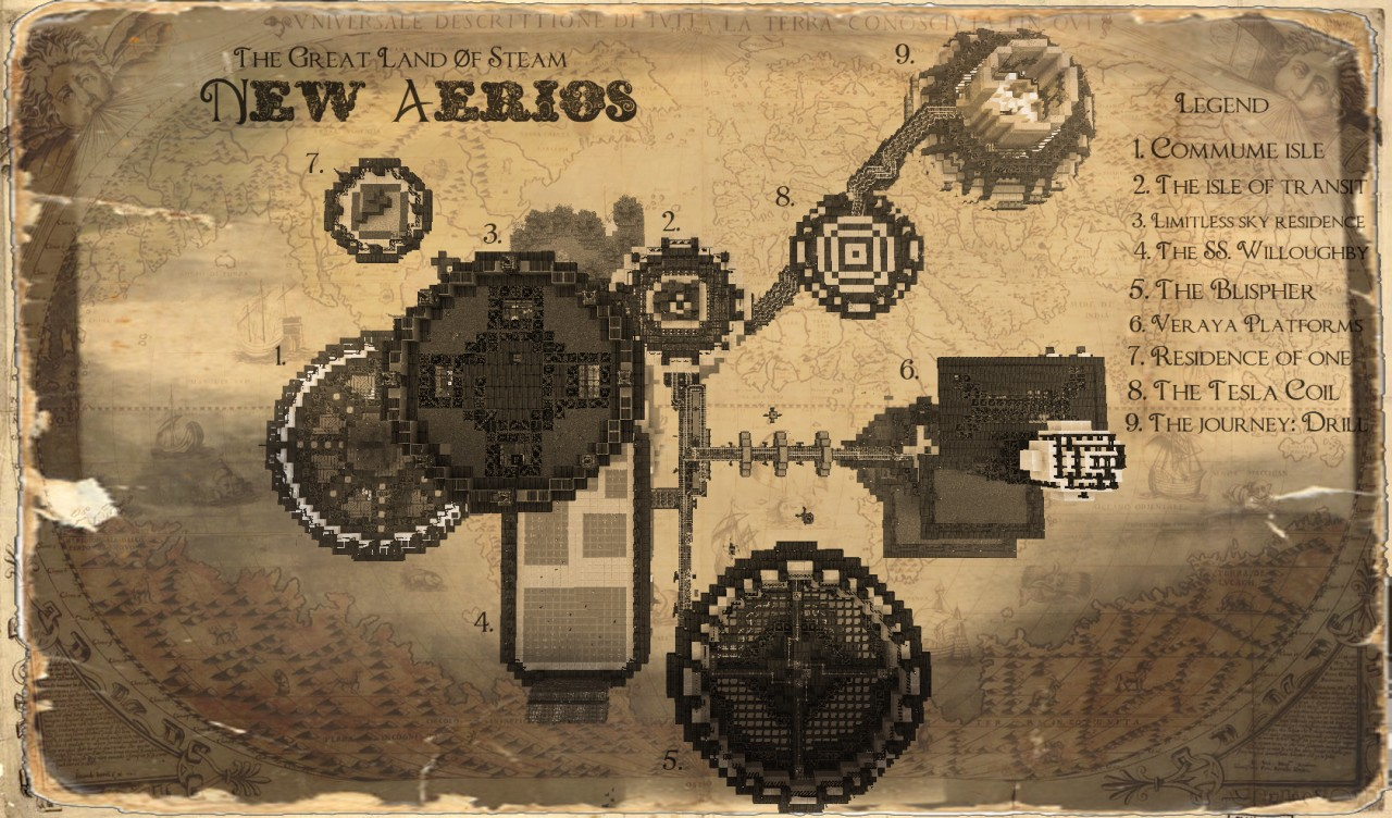 steampunk map wallpaper - photo #20