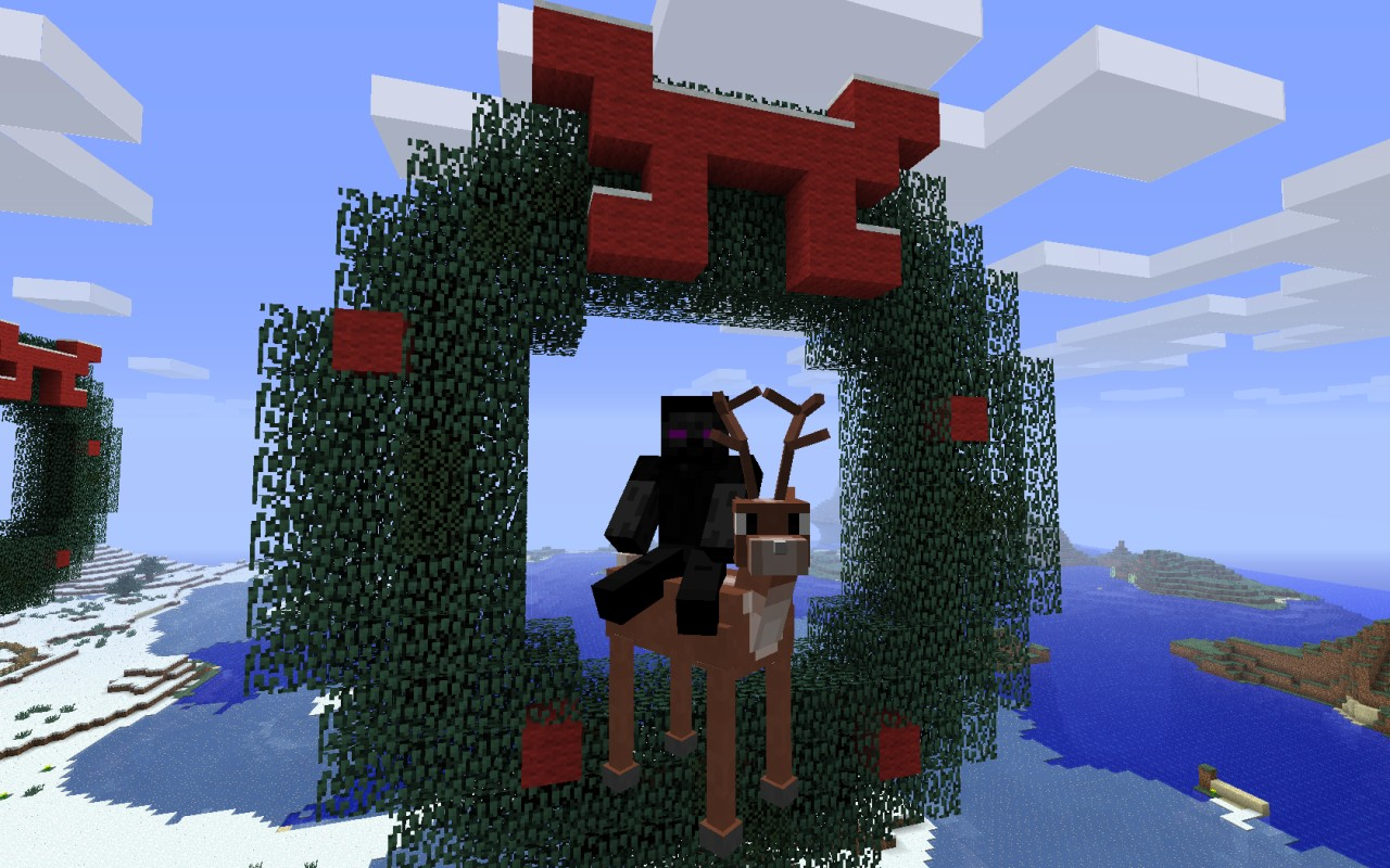 Animal Bike Challenges Racecourses Minecraft Project