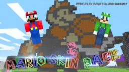 Mario Skin Pack!  A Collab presented by kvSketch and Sneeze7