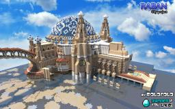 City project Raban - Persian styled steampunk