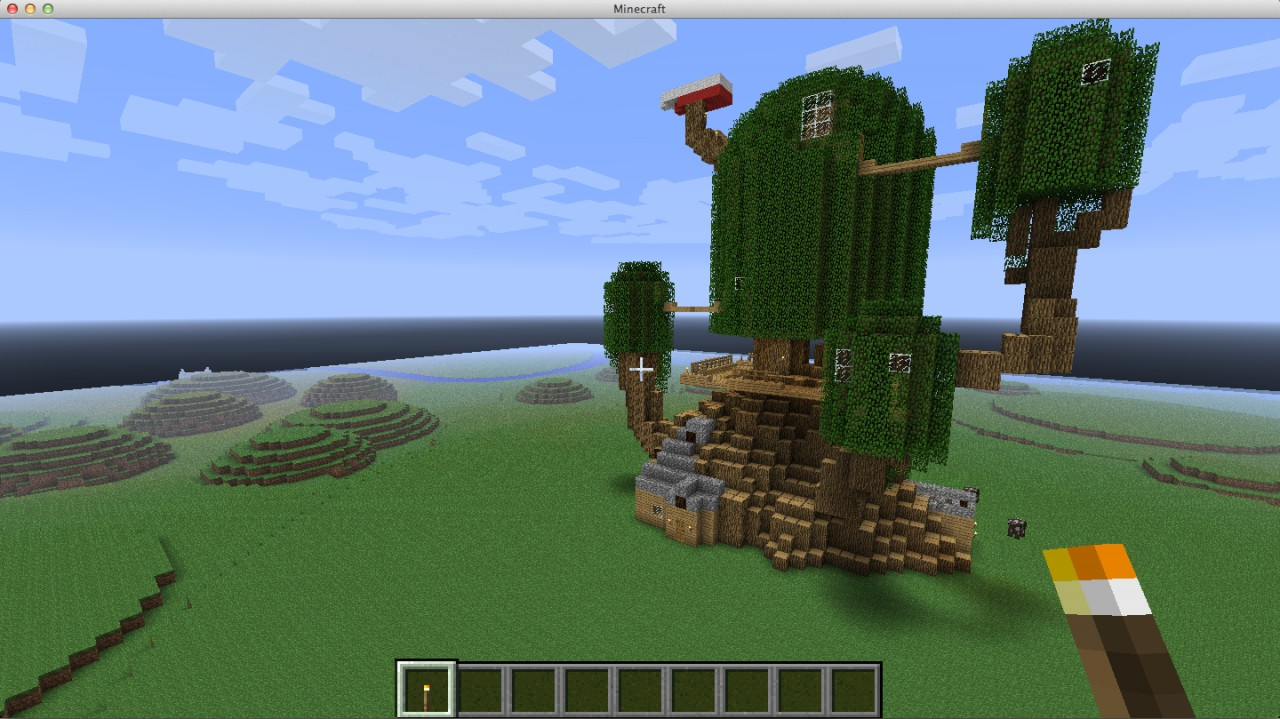 Minecraft land of new age - 87a