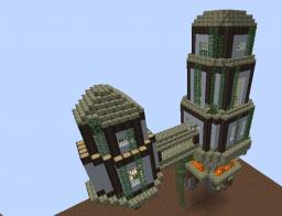 Floating Citadel 32x14x34 Minecraft Map & Project