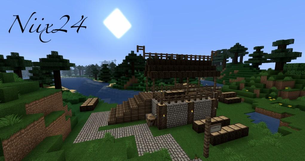 08 27 Minecraft Tutorial Meval Gate English