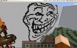 Trolling is a Art Minecraft Map & Project