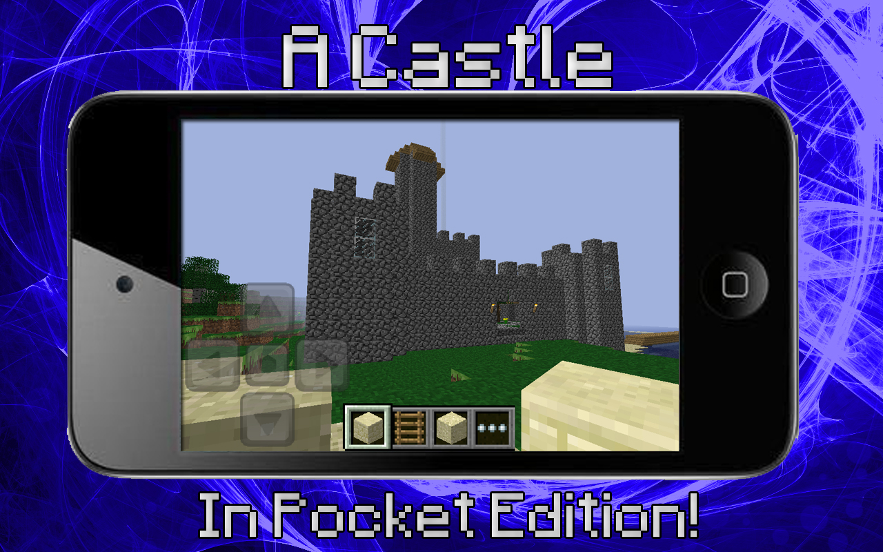 Minecraft pocket edition castle