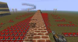 Piston Bridge Minecraft Map & Project
