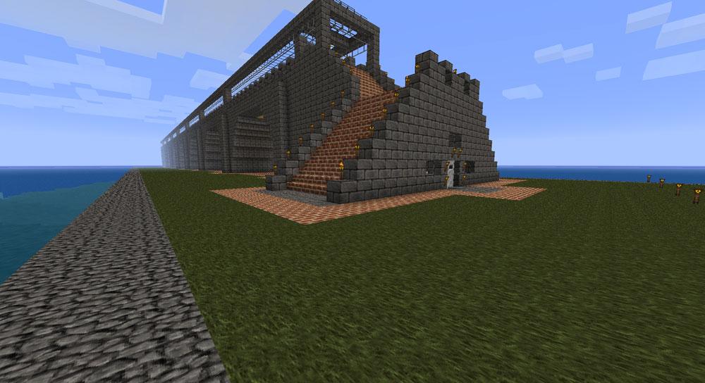 how to build railway minecraft