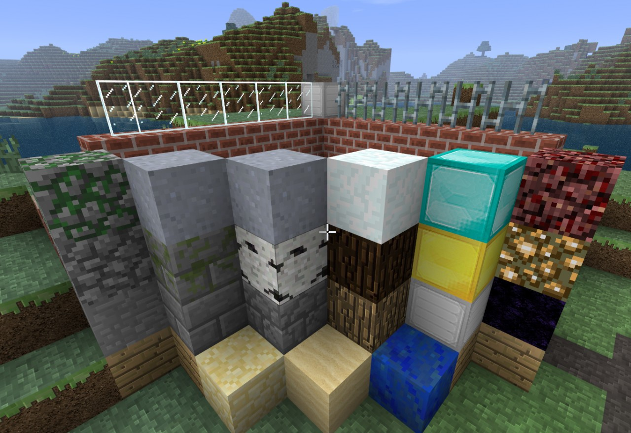 Super Default Classic-Style HD texture pack Minecraft Texture Pack