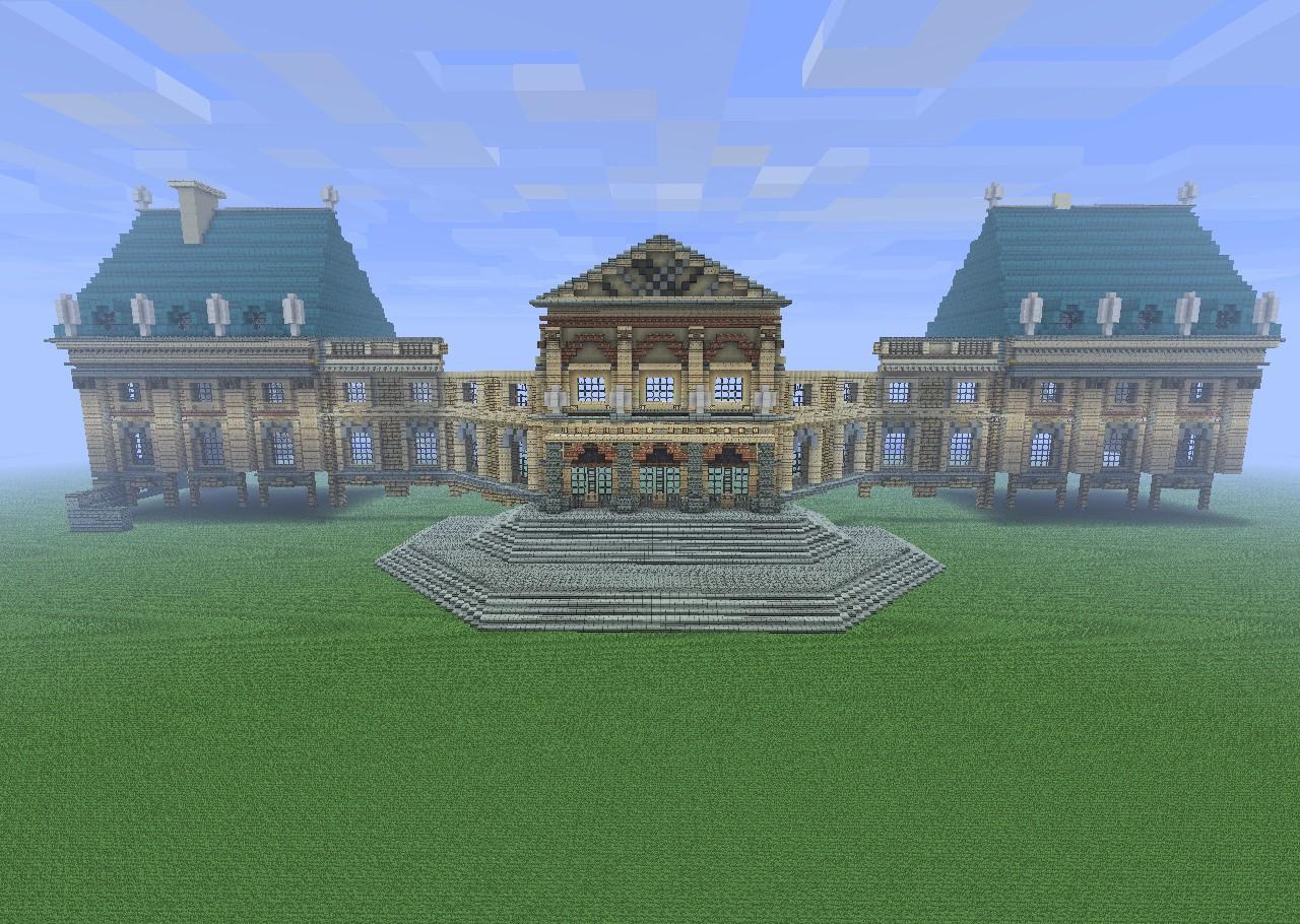 Chateau de vaux le vicomte minecraft project - Chateau de minecraft ...