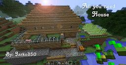 All you Need Home! Minecraft Map & Project