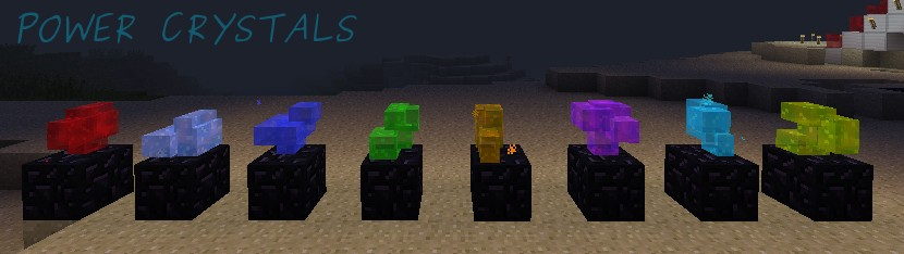 Power Crystals for miners