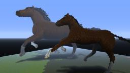 Mare and Foal Minecraft