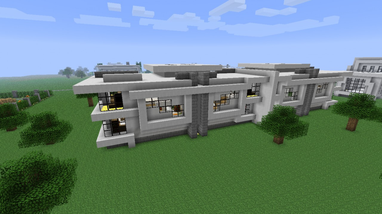 Modern Neighborhood House Five Download Minecraft Project