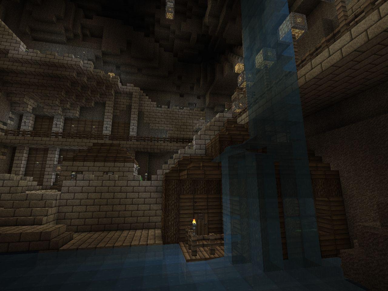 карты на волны монстров в подземелье на майнкрафт #11
