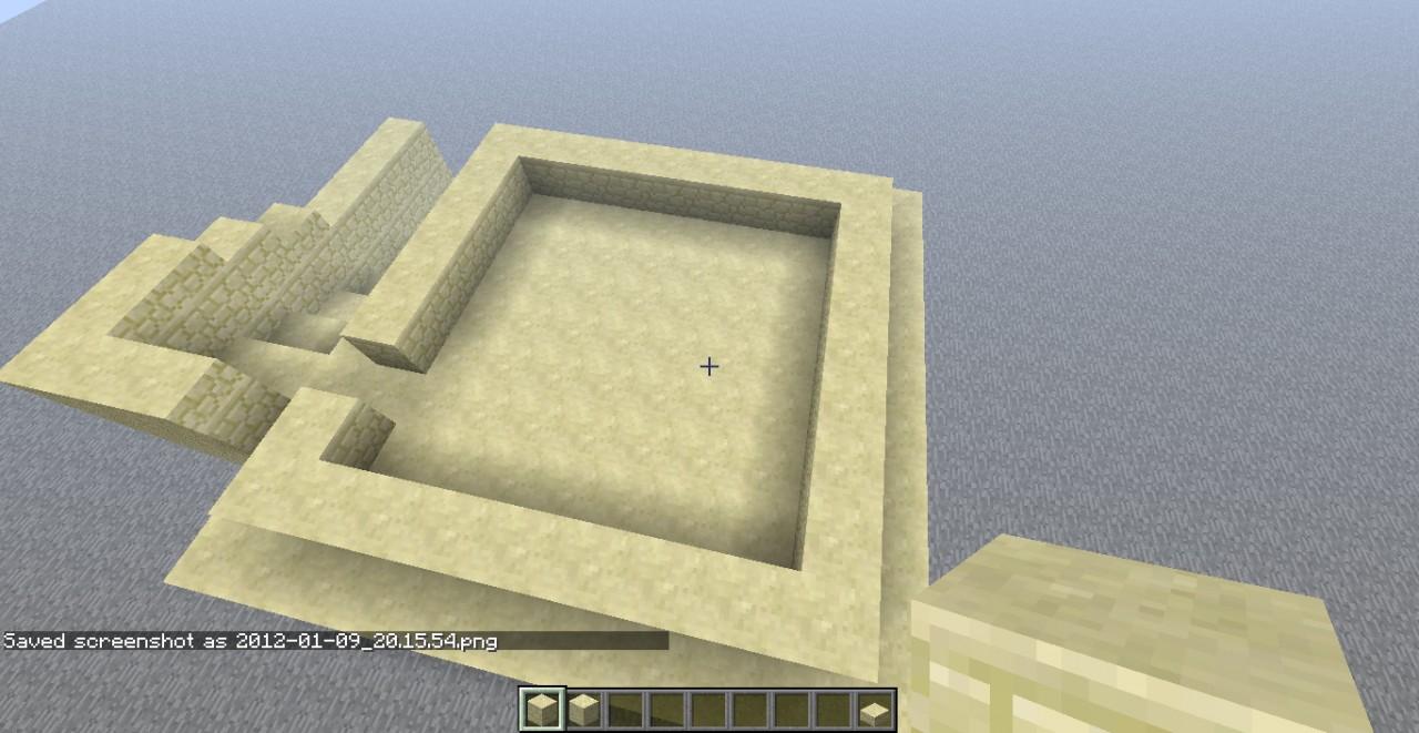 sandstone desert house blueprint minecraft project