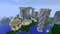 Raeloa City Minecraft Map & Project