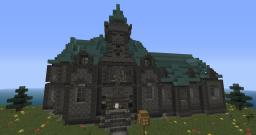 Mansion on small island Minecraft Map & Project
