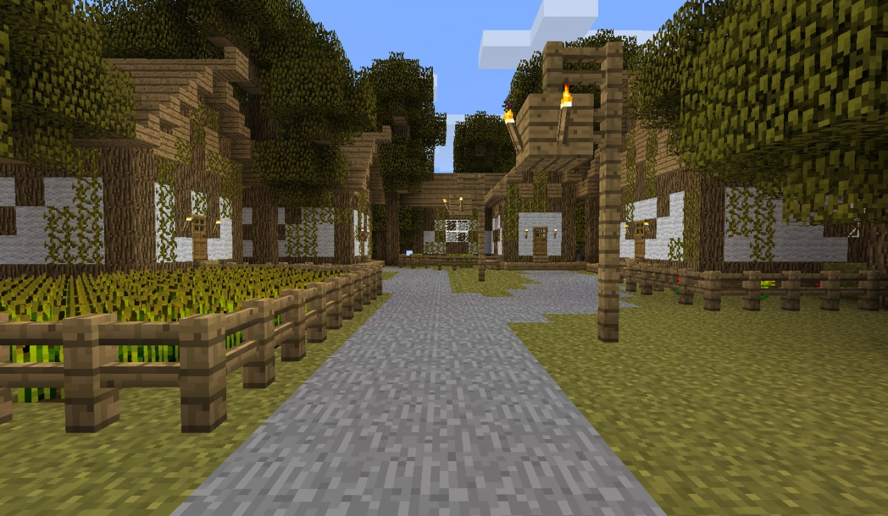 Minecraft Map Village Island