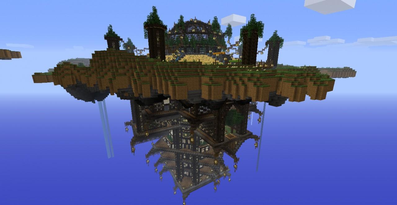 Скачать карту Летающие острова для Minecraft 1.5.2