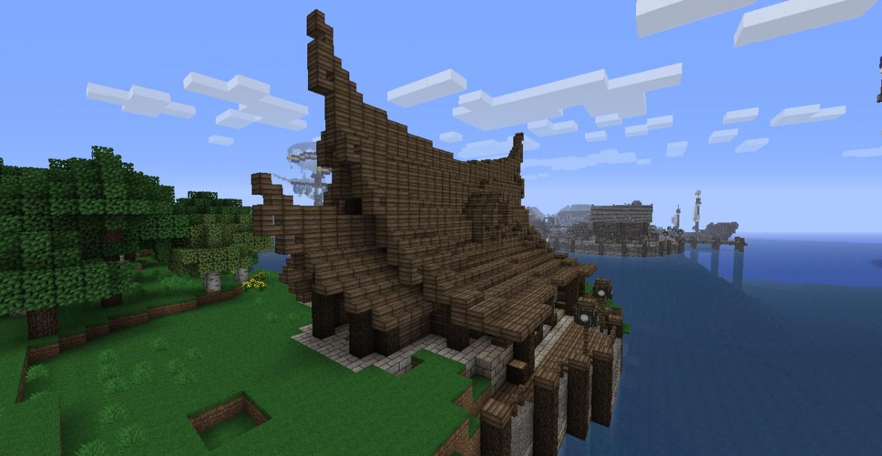 big viking house minecraft project