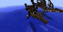 Elven Airship- Small Minecraft Map & Project
