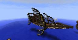 Elven Airship Minecraft Map & Project
