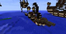 Elven transport ship-small Minecraft Map & Project