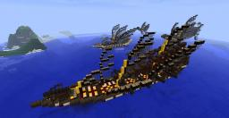 Elven Frigate Minecraft Map & Project