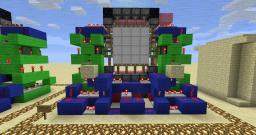Super Compact 4x4 Door (Tutorial Inc) Minecraft Map & Project