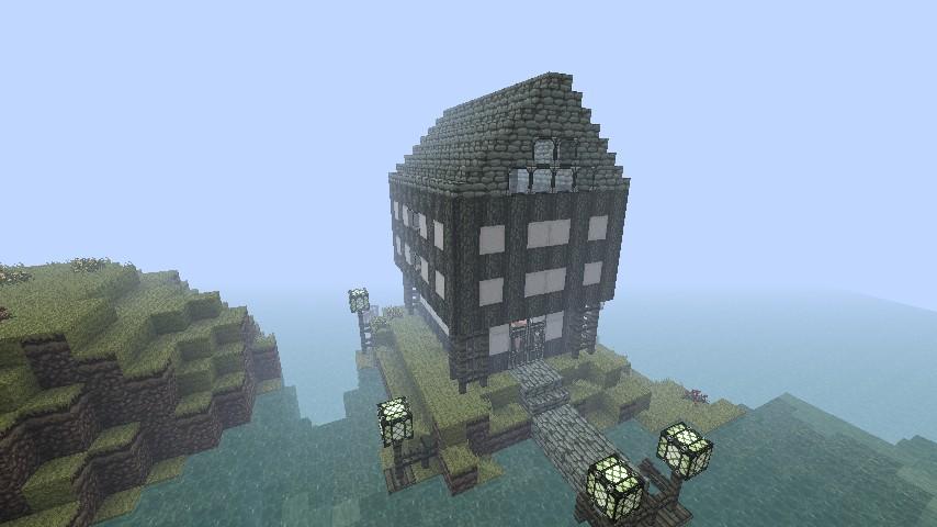 My Dream Beach House Minecraft Project